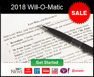 Click here to begin creating your Will!